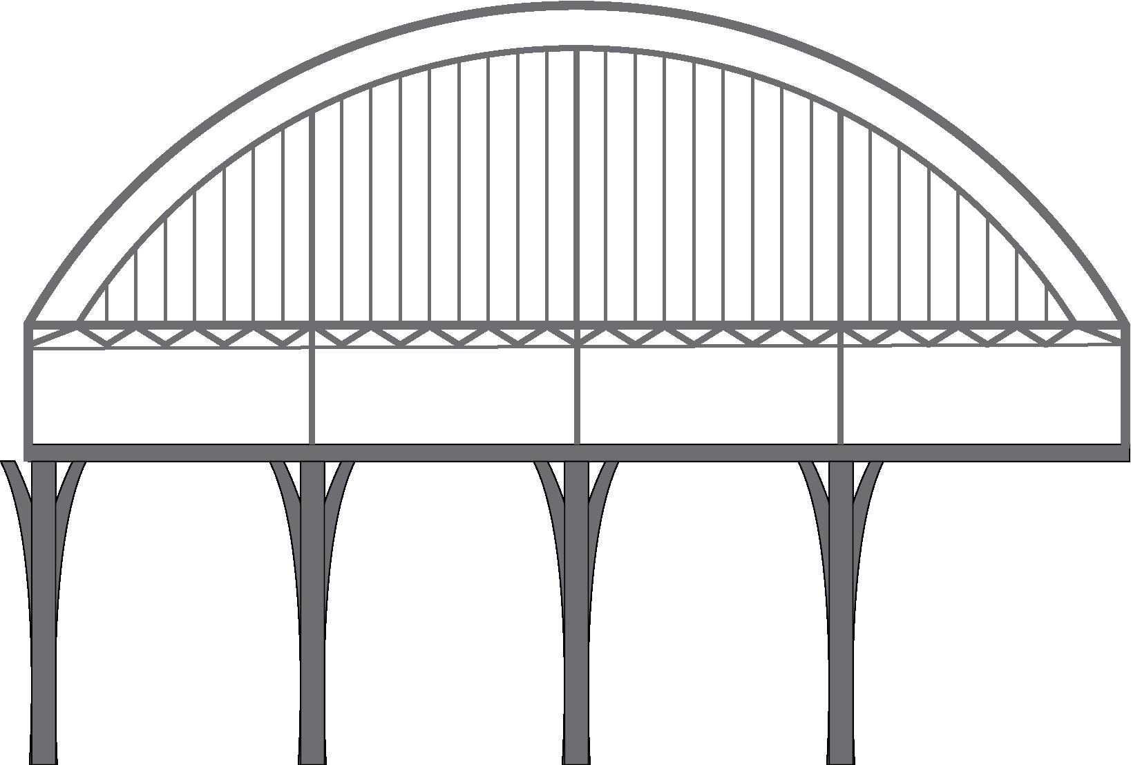 Bridge Bicycle Car Waves