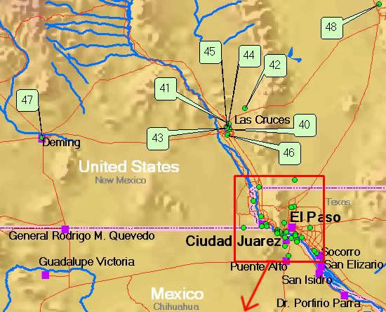 Ciudad JuarezEl Paso Area Monitoring Sites Border Air Quality
